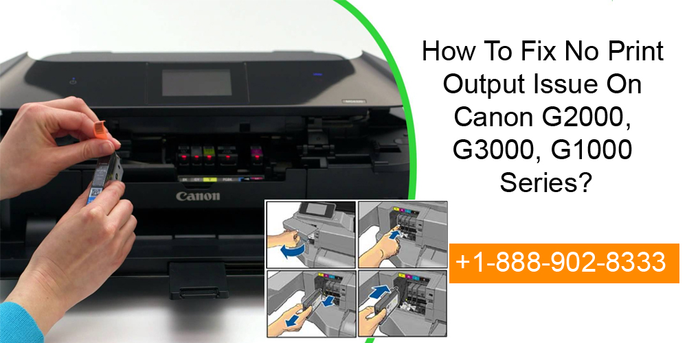 Fix No Print Output Issue On Canon G2000, G3000, G1000 Series?