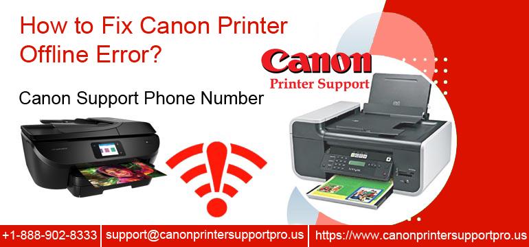 How to Fix Canon Printer Offline Error?
