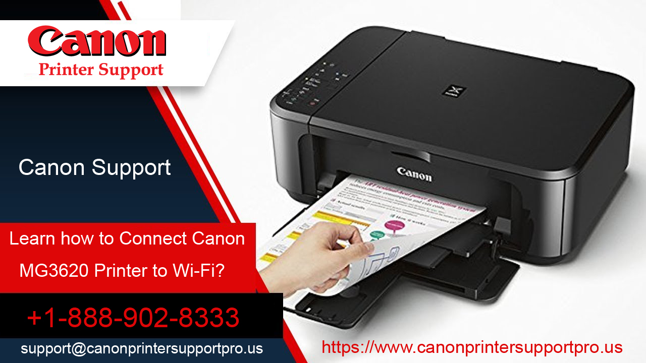 Learn how to Connect Canon mg3620 Printer to Wi-Fi?