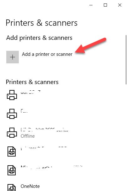 canon printer installation