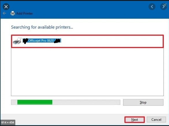 available-printers