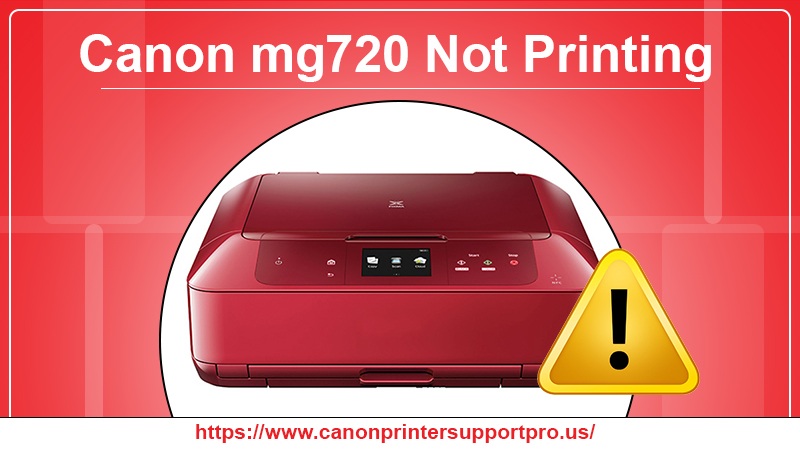 Canon mg720 not printing